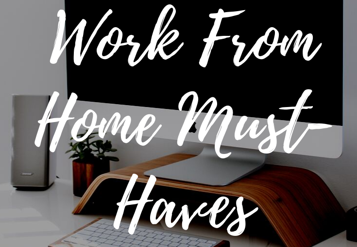 Working From Home Must-Haves That You Can Get on Amazon